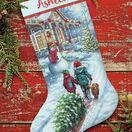 Christmas Tradition Cross Stitch Stocking Kit additional 1