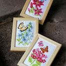 Butterflies Miniatures 2 Cross Stitch Kit (set of 3) additional 2