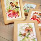 Four Seasons Birds Miniatures Cross Stitch Kit (Set of 4) additional 2