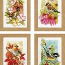 Four Seasons Birds Miniatures Cross Stitch Kit (Set of 4) additional 1