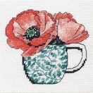 Floral Teacup Tapestry Kit additional 1