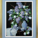 Lilacs And Lace Embroidery Kit additional 2