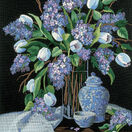 Lilacs And Lace Embroidery Kit additional 1
