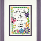 Live Life Embroidery Kit additional 2