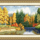 Golden Waters Cross Stitch Kit additional 2
