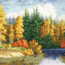 Golden Waters Cross Stitch Kit additional 1