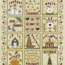 A Year In The Life Cross Stitch Kit additional 1