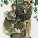Koala Mum With Baby Cross Stitch Kit additional 1