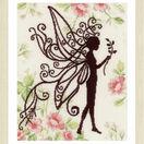 Flower Fairy Silhouette 1 Cross Stitch Kit additional 2