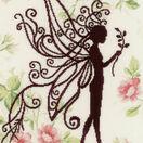 Flower Fairy Silhouette 1 Cross Stitch Kit additional 1