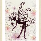 Flower Fairy Silhouette 2 Cross Stitch Kit additional 2