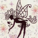 Flower Fairy Silhouette 2 Cross Stitch Kit additional 1