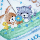 Our Greatest Adventure Cross Stitch Birth Record Kit additional 3