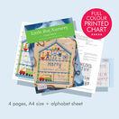 Little Boy Nursery Cross Stitch Birth Sampler Kit additional 3