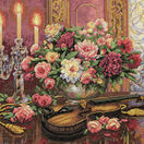 Romantic Floral Cross Stitch Kit additional 1