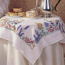 Spring Flowers Embroidery Tablecloth Kit additional 1