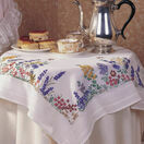 Spring Flowers Embroidery Tablecloth Kit additional 2