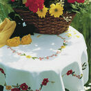 Poppies Tablecloth Embroidery Kit additional 2