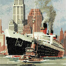 The Queen Mary Cross Stitch Kit additional 1