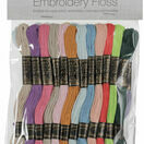Embroidery Floss - Pastel Colours (36 skeins) additional 3