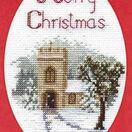 The Church Christmas Card Cross Stitch Kit additional 3