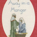 Away In A Manger Christmas Cross Stitch Card Kit additional 3