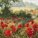 A Host of Poppies Cross Stitch Kit additional 1