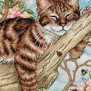 Napping Kitten Cross Stitch Kit additional 1