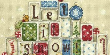 Chrismas Cross Stitch Kits Design Inspiration