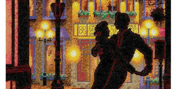 8 Cross Stitch Kits For The Strictly Fan