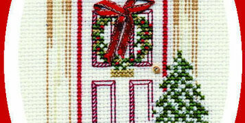 Christmas Card Cross Stitch Kits