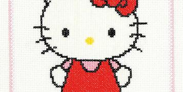 New Range of Hello Kitty Cross Stitch Kits