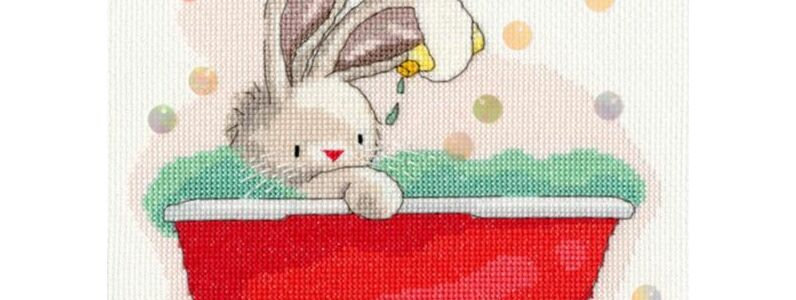 10 Bunny Themed Cross Stitch Kits For Easter