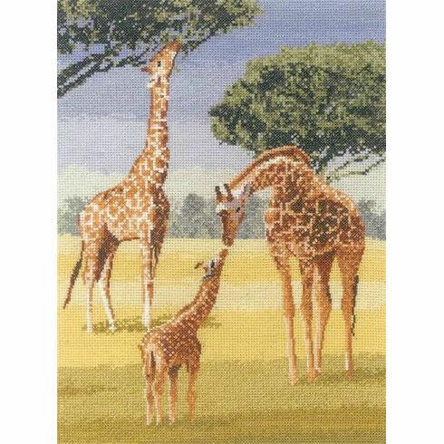 Giraffes Cross Stitch Kit