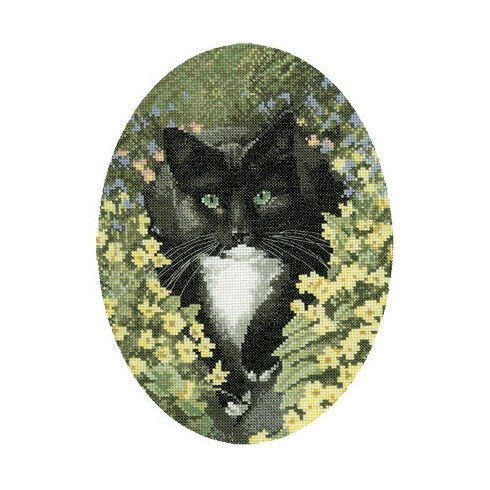 Black And White Cat Chart