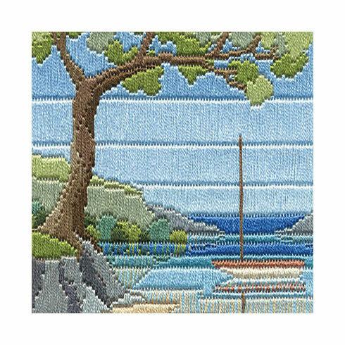 Beach Cove Long Stitch Kit
