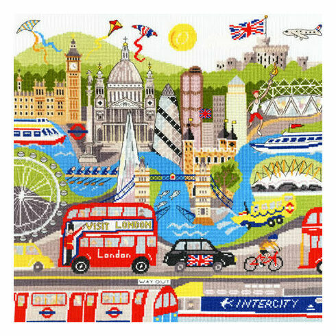 London Cross Stitch Kit