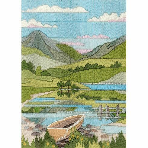 Mountain Spring Long Stitch Kit