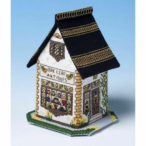 The Antique Shop 3D Cross Stitch Kit