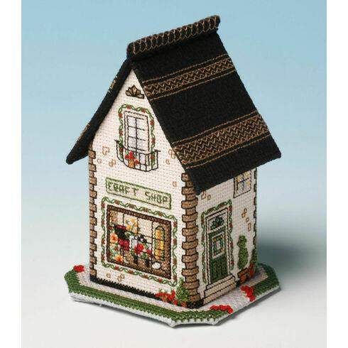 The Craft Shop 3D Cross Stitch Kit