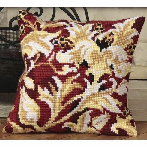 Elizabethan Cushion Panel Cross Stitch Kit