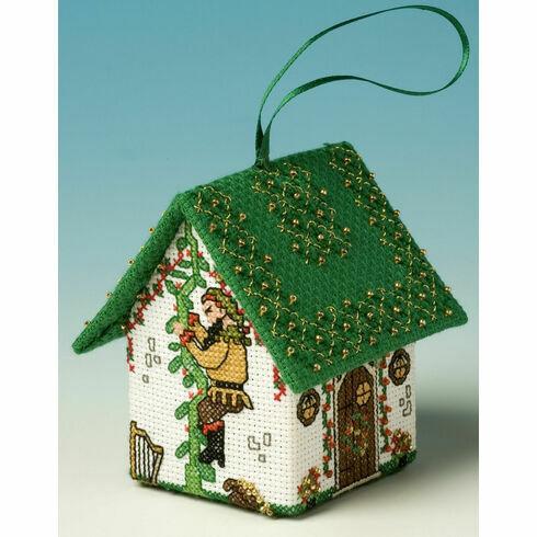 Jack & The Beanstalk 3D Pantomime House Cross Stitch Kit