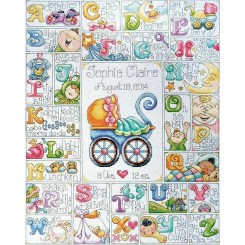 Baby ABC Cross Stitch Kit
