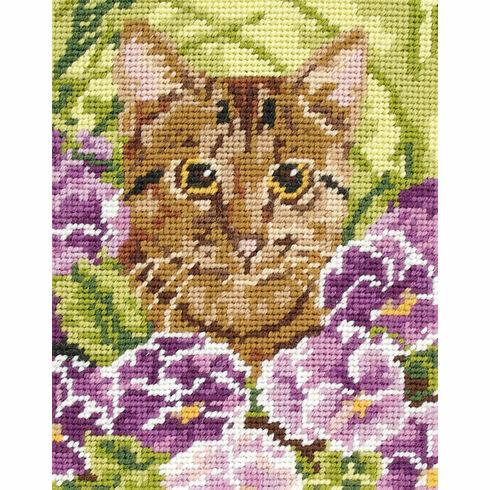 Cat Beginners Tapestry Kit