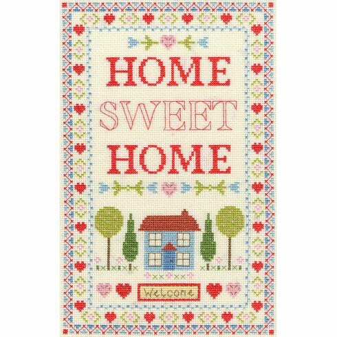 Home Sampler Cross Stitch Kit