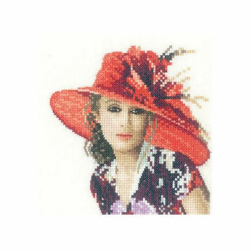 Victoria Miniature Cross Stitch Kit