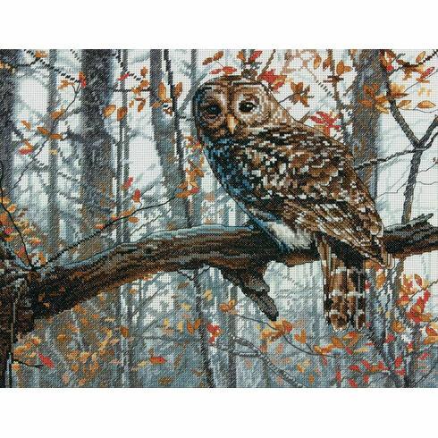 Wise Owl Cross Stitch Kit