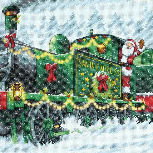 Santa Express Cross Stitch Kit
