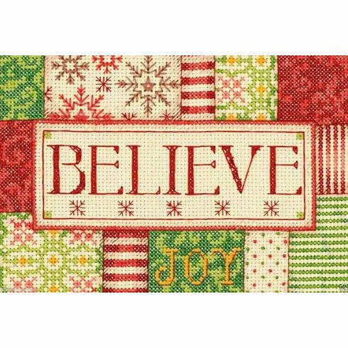 Believe Cross Stitch Kit