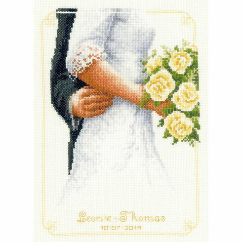 Bridal Bouquet Cross Stitch Kit